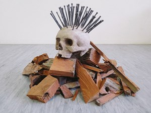 Punk Kindling by Glen Hayward contemporary artwork