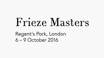 Contemporary art exhibition, Frieze Masters 2016 at Blum & Poe, Tokyo
