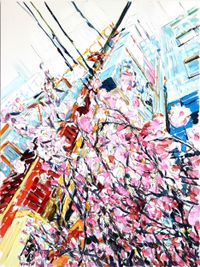 Ueno Park by Erik Schmidt contemporary artwork painting