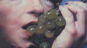 Untitled (grapes 2) by Johannes Kahrs contemporary artwork