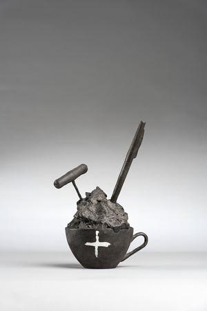 Tassa by Antoni Tàpies contemporary artwork