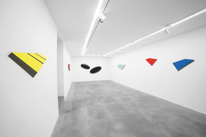 Exhibition view: Wolfram Ullrich, Wolfram Ullrich. Pure Color, Pure Form, Dep Art Gallery, Milan (21 June–29 September 2018). Courtesy Dep Art Gallery.