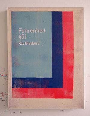 Fahrenheit 451 / Ray Bradbury by Heman Chong contemporary artwork