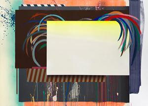 Cockfighting screens by Henriette Grahnert contemporary artwork