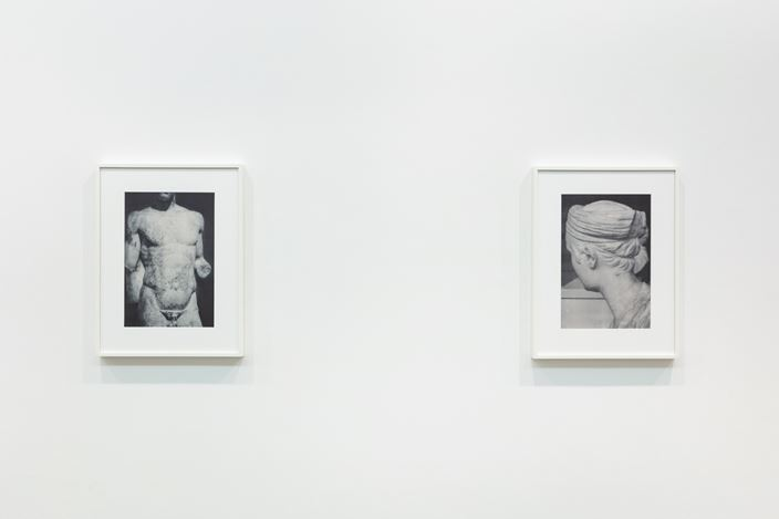 Exhibition view: James Welling, Planograph,Maureen Paley, London (23 November 2019–12 January 2020). © James Welling. Courtesy Maureen Paley, London.