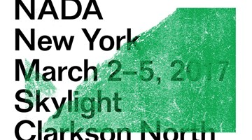 Contemporary art exhibition, NADA New York 2017 at Galerie Christian Lethert, New York, USA