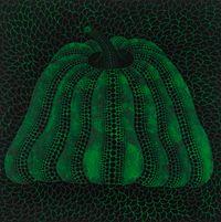 PUMPKIN (TUXEW) by Yayoi Kusama contemporary artwork painting