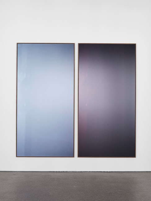 Duo A by Jan Dibbets contemporary artwork