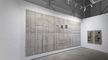 Contemporary art exhibition, Rathin Barman, Dimensional Distortion at Experimenter, Ballygunge Place, Kolkata