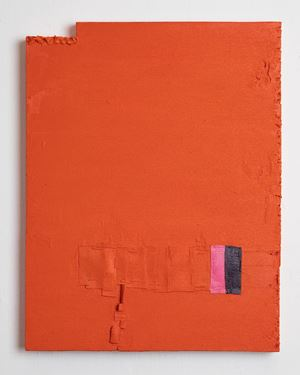Untitled (orange) by Louise Gresswell contemporary artwork painting
