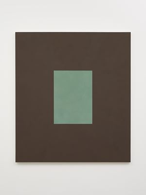 Green with Brown by Peter Joseph contemporary artwork