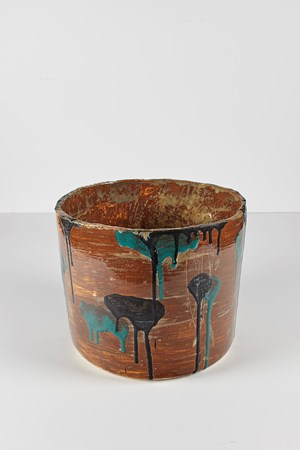 Untitled Large Planter 24 by Rashid Johnson contemporary artwork