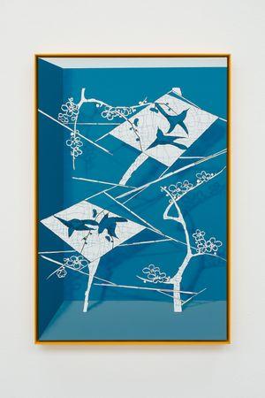 The Weaver Star by Alex Dordoy contemporary artwork