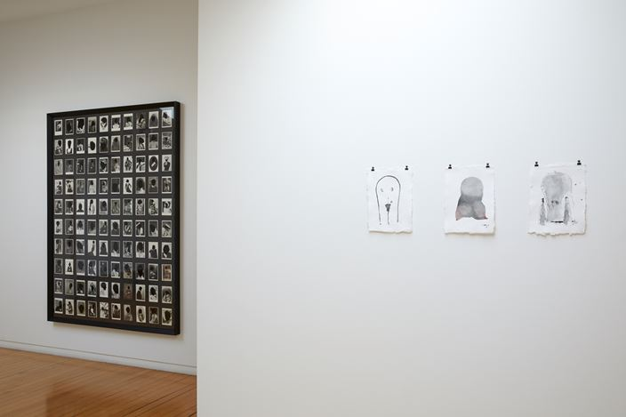 Exhibition view: Julia Morison, Um/Er, Two Rooms, Auckland (6 December 2019–17 January 2020). Courtesy Two Rooms.