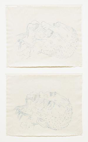 Double Head (No. 3) A+B by Kiki Smith contemporary artwork