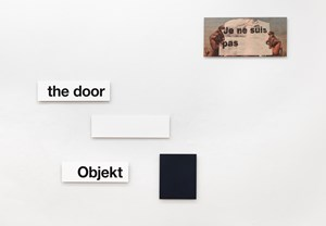 Je ne suis pas by Heinrich Dunst contemporary artwork