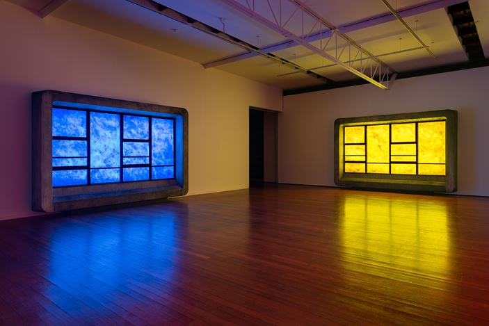 installation view, Callum Morton: View from a Bridge, Roslyn Oxley9 Gallery, Sydney (4 June – 4 July 2020). photo: Luis Power