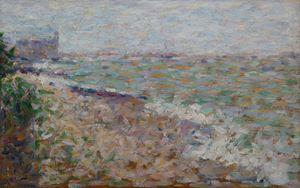 Le mouillage à Grandcamp by Georges Seurat contemporary artwork