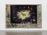 This Means Tableau by Laure Prouvost contemporary artwork textile