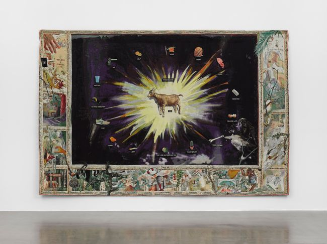 This Means Tableau by Laure Prouvost contemporary artwork