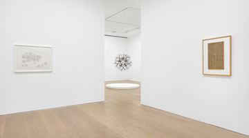 Contemporary art exhibition, Ruth Asawa, A Line Can Go Anywhere at David Zwirner, London