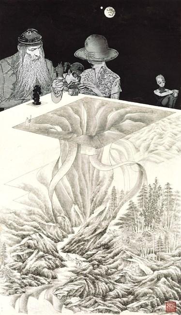 M Theory 2 by Wong Chung-Yu contemporary artwork