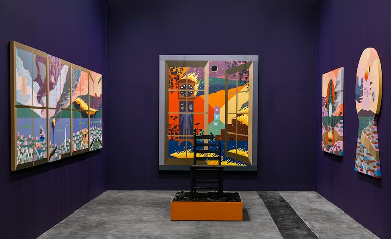 Anat Ebgi, Art Basel in Hong Kong 2021 (19–23 May 2021). CourtesyAnat Ebgi, Los Angeles.