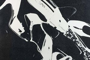 Diamond Dust Shoe 255 by Andy Warhol contemporary artwork