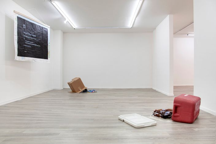 Exhibition view:Adriana Martínez Barón,moments that last forever, FORO.SPACE, Bogota (9 August–18 September 2021). Courtesy FORO.SPACE.