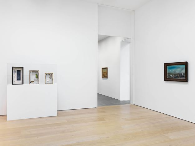 Exhibition view: Group Exhibition,Endless Enigma: Eight Centuries of Fantastic Art, David Zwirner, 20th Street, New York (12 September–27 October 2018). Courtesy David Zwirner.
