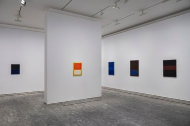 Exhibition view: Mark Rothko, 1968: Clearing Away, Pace Gallery, London (8 October–13 November 2021). © 2020 by Kate Rothko Prizel and Christopher Rothko. Courtesy Pace Gallery.