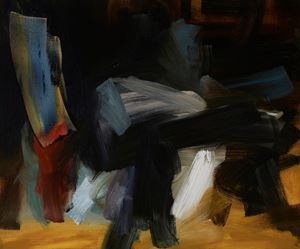 Medium Study for Night Watch by Elise Ansel contemporary artwork