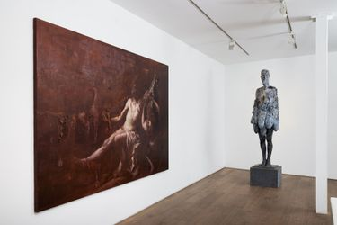 Exhibition view: Group Exhibition, inspirations from the ancients, gallery rosenfeld, London (7 October–13 November 2021). Copyright©2021 Rosenfeld, All rights reserved. Courtesy gallery rosenfeld.