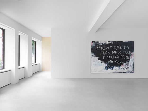 Exhibition view: Tracey Emin, Detail of Love, Xavier Hufkens, 44 rue Van Eyck & 107 rue St-Georges, Brussels (30 October–19 December 2020). Courtesy the Artist and Xavier Hufkens, Brussels.