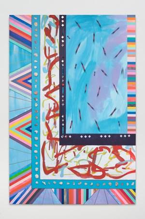 sky and sea by Sarah Cain contemporary artwork