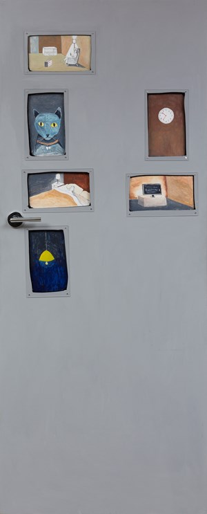 Home Interior: Door A by Noel McKenna contemporary artwork