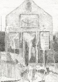 Untitled by Marc Desgrandchamps contemporary artwork drawing