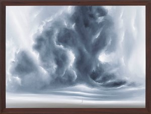 Wolkenlandschaft 14 Uhr by Titus Schade contemporary artwork