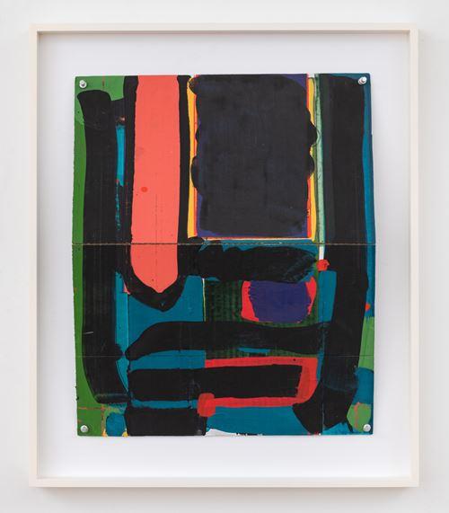 3rd Fold by Matt Connors contemporary artwork