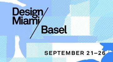 Contemporary art art fair, Design Miami / Basel at Bailly Gallery, Paris, France