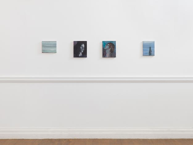 Exhibition view: Paul P., Centaurs on the Beach, Maureen Paley, Morena di Luna, Hove (20 June–16 August 2020). © Paul. P. Courtesy Maureen Paley, London.