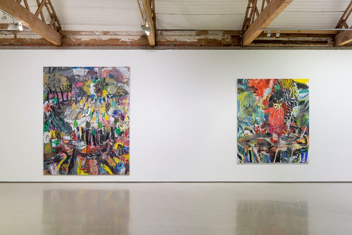 Exhibition view: Misheck Masamvu, Hata, Goodman Gallery, Cape Town (20 July–31 August 2019). Courtesy Goodman Gallery.