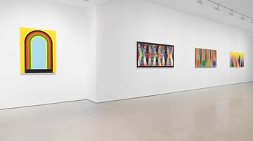 Contemporary art exhibition, Rico Gatson, Ghosts at Miles McEnery Gallery, 520 West 21st Street, New York, USA