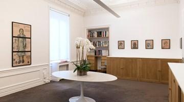 Contemporary art exhibition, Nalini Malani, People Come and Go at Galerie Lelong & Co. Paris, 13 Rue de Téhéran, Paris, France