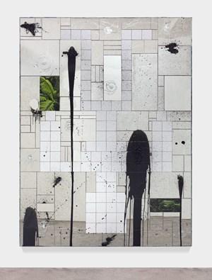Falling Man by Rashid Johnson contemporary artwork