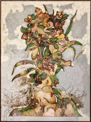 Tropical Dream by Ugo Schildge contemporary artwork mixed media