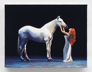Shania Twain's Horse 1 by Sam McKinniss contemporary artwork