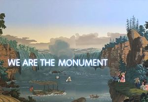 We Are The Monument by Nathan Coley contemporary artwork