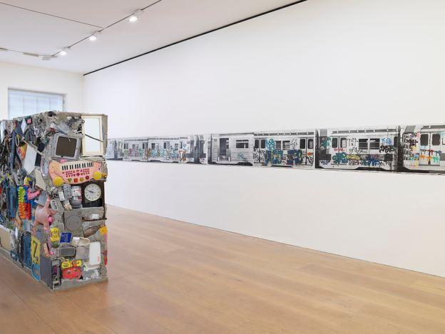 Exhibition view: Gordon Matta-Clark, Works 1970–1978,David Zwirner, London (21 November–21 December 2018). © The Estate of Gordon Matta-Clark / Artists Rights Society (ARS), New York. Courtesy The Estate of Gordon Matta-Clark and David Zwirner. Photo:Dan Weill.