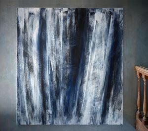 Vertikales Motiv by Raimund Girke contemporary artwork